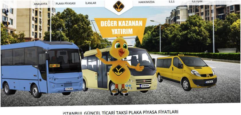 Taksi Plakası Kiralama Fiyatları