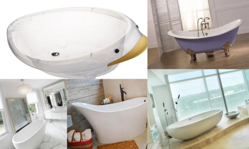 Banyo Küvet Modelleri Nelerdir?
